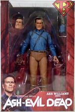"HERO ASH Ash vs Evil Dead 7"" Scale Starz TV Action Figure Series 1 Neca 2016"