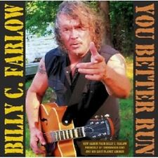 """BILLY C FARLOW """"YOU BETTER RUN"""" CD NEU"""