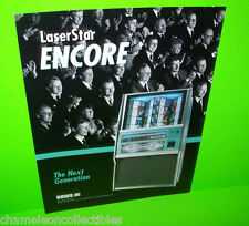 LASERSTAR ENCORE By ROWE AMI 1999 NOS ORIGINAL PHONOGRAPH JUKEBOX SALES FLYER