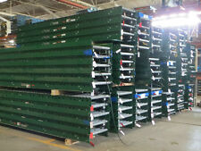 "28""W x 12'L Gravity Roller Conveyor (Siemens- Dematic) w/2.25"" Rail"