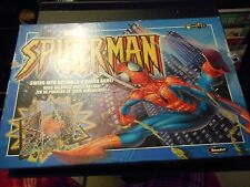 Marvel Spider-Man Swing Into Action 3-D Board Game - 100% complete - Excellent