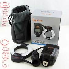 Meike MK-14EXM Macro LED Ring Flash Light For Nikon F D7100 D600 D5200 D90 D800