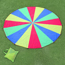 Kids Play Parachute 6m Large Children Rainbow Outdoor Game Exercise Sport Toy