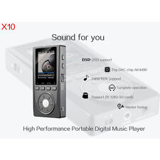 XDUOO X10 HIFI Lossless MP3 Music Player Support WIN7 / WIN10 Micro 256G SD Card