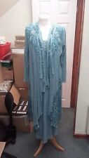 Ann Balon Mother of the Bride Size Large L 16 18 Sea Green 3 Piece BRANDNEW £700