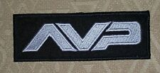 ALIEN VS PREDATOR, AVP IRON-ON EMBROIDERED PATCH/ LOGO BADGE FOR SHIRTS/ SHORTS