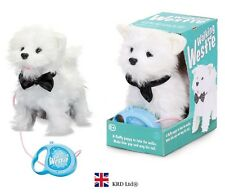 Kids WALKING WESTIE Puppy Barking Remote Control Pets Dog Pet Christmas Gift Toy