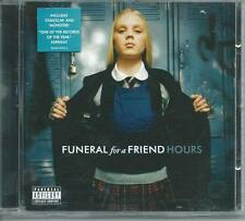 FUNERAL FOR A FRIEND Hours CD ALBUM free ww shipping