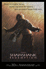 20th Anniv. SHAWSHANK REDEMPTION *LE* Mosaic PRINT - #22/250 + FREE POSTER!