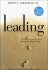 Leading Quietly by Badaracco Jr., Joseph L., Acceptable Book