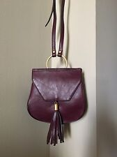 BIG BUDDHA Women's Bordeaux Small Cross Body Bag Purse NWT