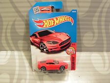 2016 HOT WHEELS ''THEN AND NOW'' #106 = ASTON MARTIN  DBS = RED int