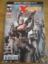 * X-MEN UNIVERSE 2 *avril 2011 MARVEL XMEN VF PANINI COMICS RETOUR DU MESSIE 4/7