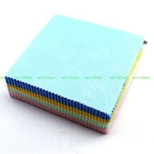 100X Microfibre Cleaning Polishing Cloth For Musical Instrument Guitar Piano