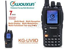 Wouxun KG-UV9D VHF UHF Dual Band Multi-functional DTMF Two Way Radio Ham