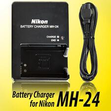 MH-24 Battery Charger For Nikon EN-EL14 P7100 P7000 D5100 D3100 D3200 Camera