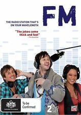 FM THE RADIO THAT'S ON YOUR WAVE LENGTH * NEW SEALED ALL REGIONS DVD * 2 DISCS