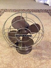 VINTAGE ROBBINS AND MYERS 10 INCH OSCILLATING DESK TOP FAN