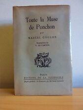 Toute la Muse de PONCHON * Marcel Coulon * ill. V. Le Campion