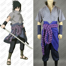 Naruto Uchiha Sasuke Cosplay Costume Anime Customized
