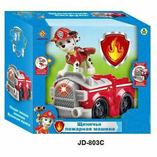 1pc PAW PUPPY PATROL Vehicle Car with light and music Action Figure Toy Marshall