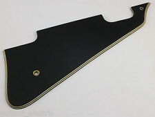 AGED BLACK 5 PLY 54 PICKGUARD FOR GIBSON LES PAUL CUSTOM GUITARS