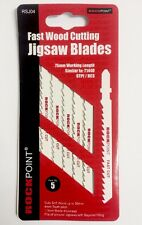 Rock Point Jigsaw Blade Metal Cutting T144D Pack Of 5 -   jig saw