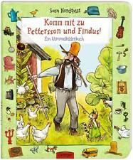 Komm mit zu Pettersson und Findus! Ein Wimmelbilderbuch Sven Nordqvist