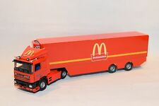 JAVI TEKNO BASED DAF 95 MCDONALDS TRUCK WITH TRAILER VN MINT COND. RARE SELTEN