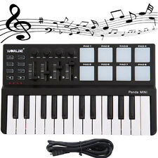 "►real ""KEYBOARD MUSIC USB"" 25-Key + Drum Pad MIDI! Worlde Panda pc  (beatmaker)"