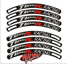 TL1000R Racing custom rim decals suzuki