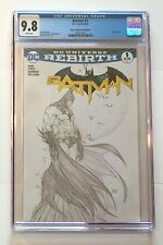 BATMAN #1 • TURNER ASPEN SKETCH VARIANT • DC REBIRTH • CGC 9.8