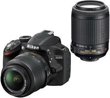 Nikon D D3200 24.2 MP Digital SLR Camera - Black (Kit w/ AF-S DX ED II...