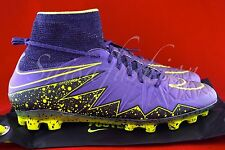 NIKE HYPERVENOM PHANTOM II 2 AG HYPER GRAPE-VOLT SZ 9.5 [747490-550]