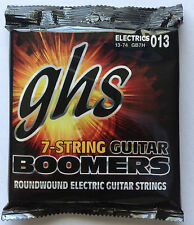 GHS Boomers Electric Guitar Strings GB7H 7-string set 13-74