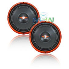 """(2) CADENCE S1W12-D4 12"""" DUAL 4-OHM S-Series CAR SUBWOOFERS SUBS S1W12D4 *PAIR*"""