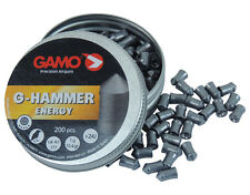Gamo G-Hammer energía .177 4.5 mm 200 Piezas. 1 G 15.4 Gr Rifle De Aire Airgun Pellets