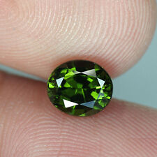 1.13 cts_Pine Green Hue_Natural_Oval Cut_African_Grossularite Garnet_BC1508