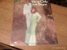 Paul Williams and Nichols: We've Only Just Begun, vocal solo (Irving)