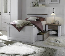 betten mit bettkasten in wei e farbe ebay. Black Bedroom Furniture Sets. Home Design Ideas