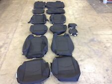 FACTORY OEM CLOTH SEAT COVER COVERS EBONY BLACK 2017 CHEVROLET TRAVERSE