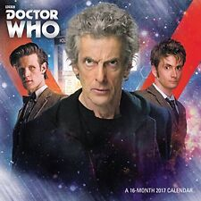 NEW Doctor Who Mini Wall Calendar (2017) by Day Dream