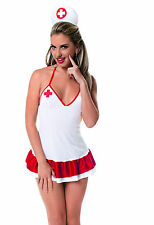 Sexy Naughty Nurse Dress Up Bedroom Costume. Roll Play Lingerie.