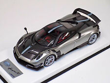 1/18 Looksmart MR Pagani Huayra BC Grigio Mercurio Carbon leather - plexiglass