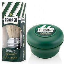 Proraso Professional Shaving Brush & Shaving Soap Set