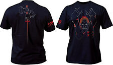 Cold Steel Samurai T-Shirt Black Cotton Mens X LARGE TH3 NEW