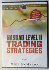 NASDAQ LEVEL II TRADING STRATEGIES by Mike Mcmahon * Stock Trading DVD *