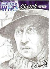 Dr Doctor Who Trilogy Sketch Card drawn by Cynthia Cummens /2