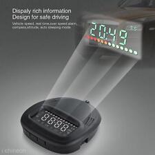 Car HUD Green LED A1 GPS Head Up Display Speeding Warning System 12V Speedometer