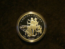 1990 Canada $1 Silver Proof Commemorative coin Henry Kelsey .500 silver